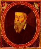 Πορτρέτο που απεικονίζει τον Γάλλο προφήτη Νοστράδαμο, έργο του γιου του, Cesar de Nostredame.