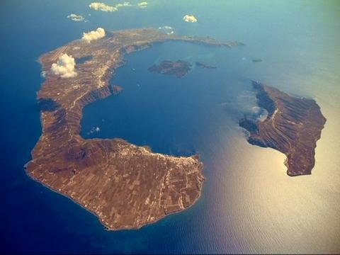 ηφαίστειο της Σαντορίνης